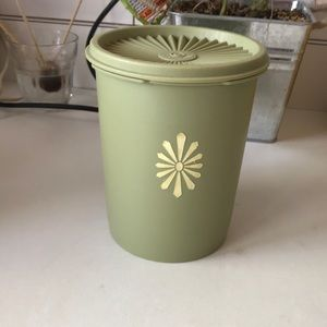Vintage Tupperware canisters